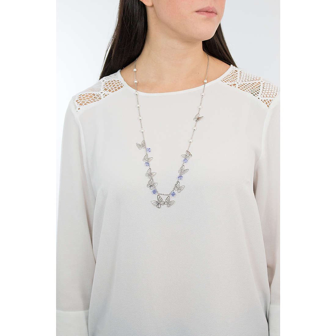 Brosway necklaces Charmant woman BCM02 photo wearing
