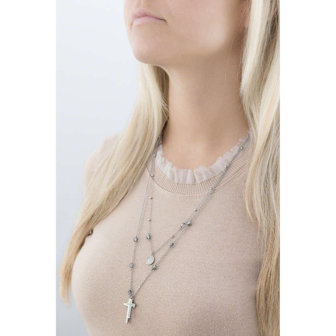 Brosway necklaces Dogma woman BDO01 indosso