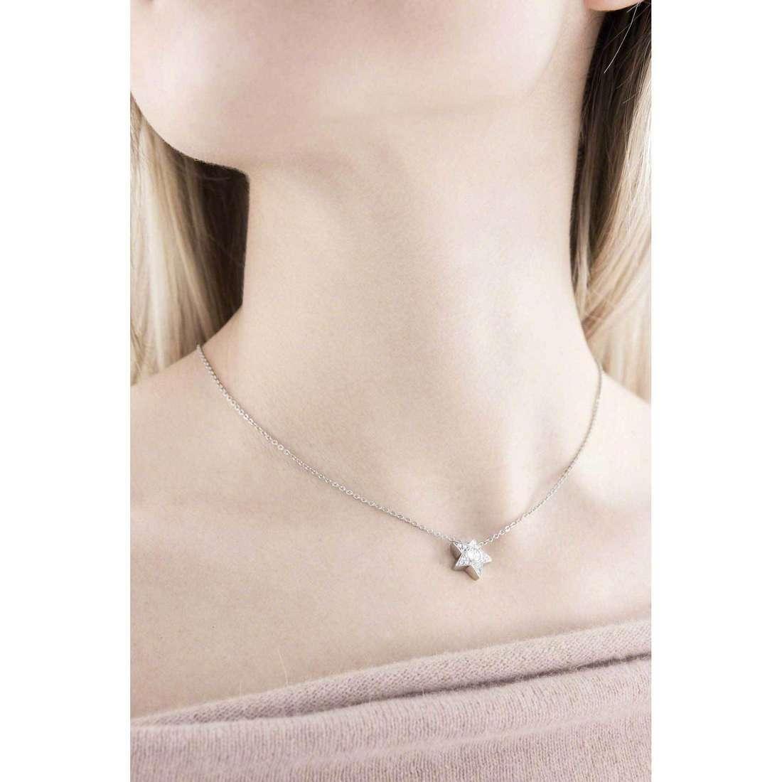 Brosway necklaces Epsilon woman BEO02 indosso