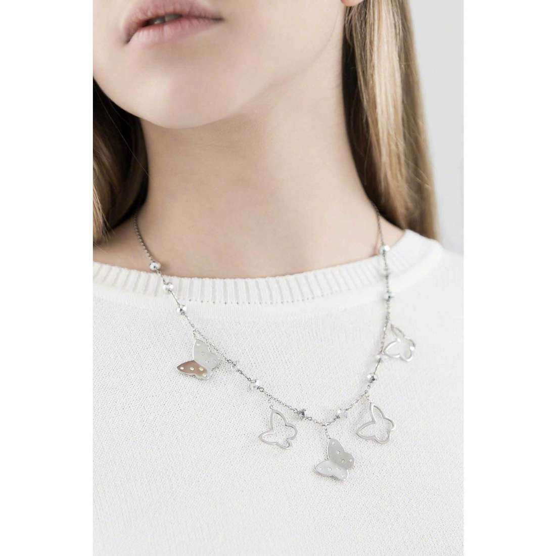 Brosway necklaces Lady woman BLD01 indosso
