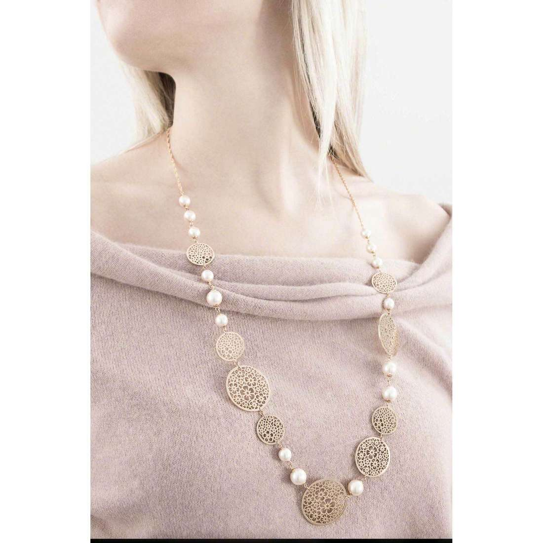 Brosway necklaces Mademoiselle woman BIS01 indosso