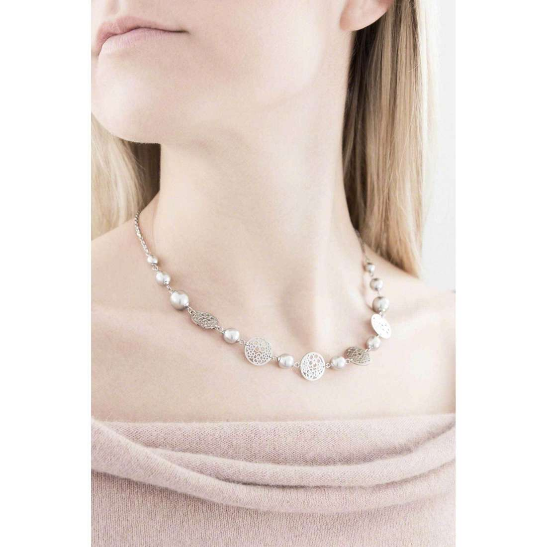 Brosway necklaces Mademoiselle woman BIS05 indosso