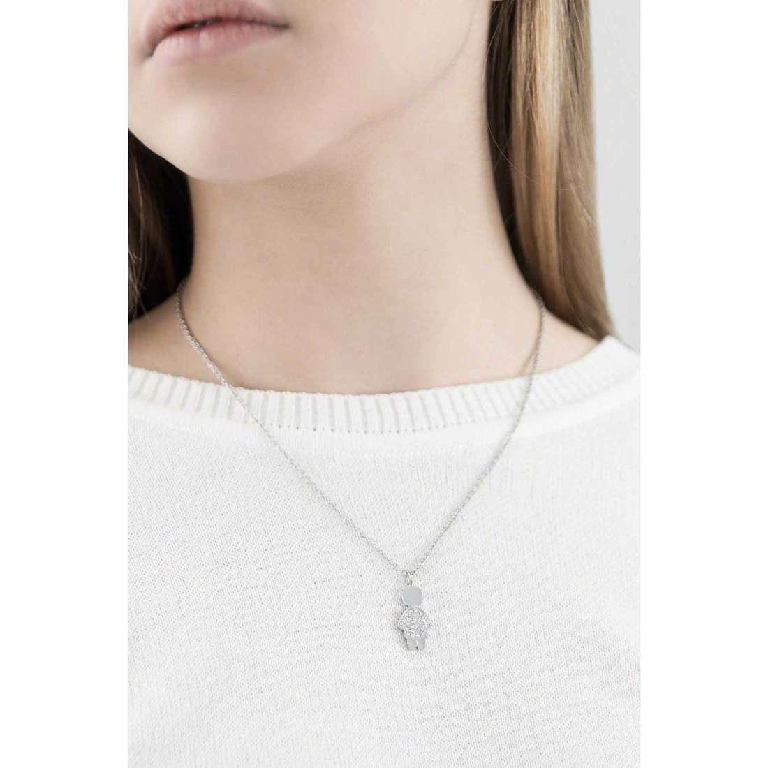 Brosway necklaces Mini woman BNI04 indosso