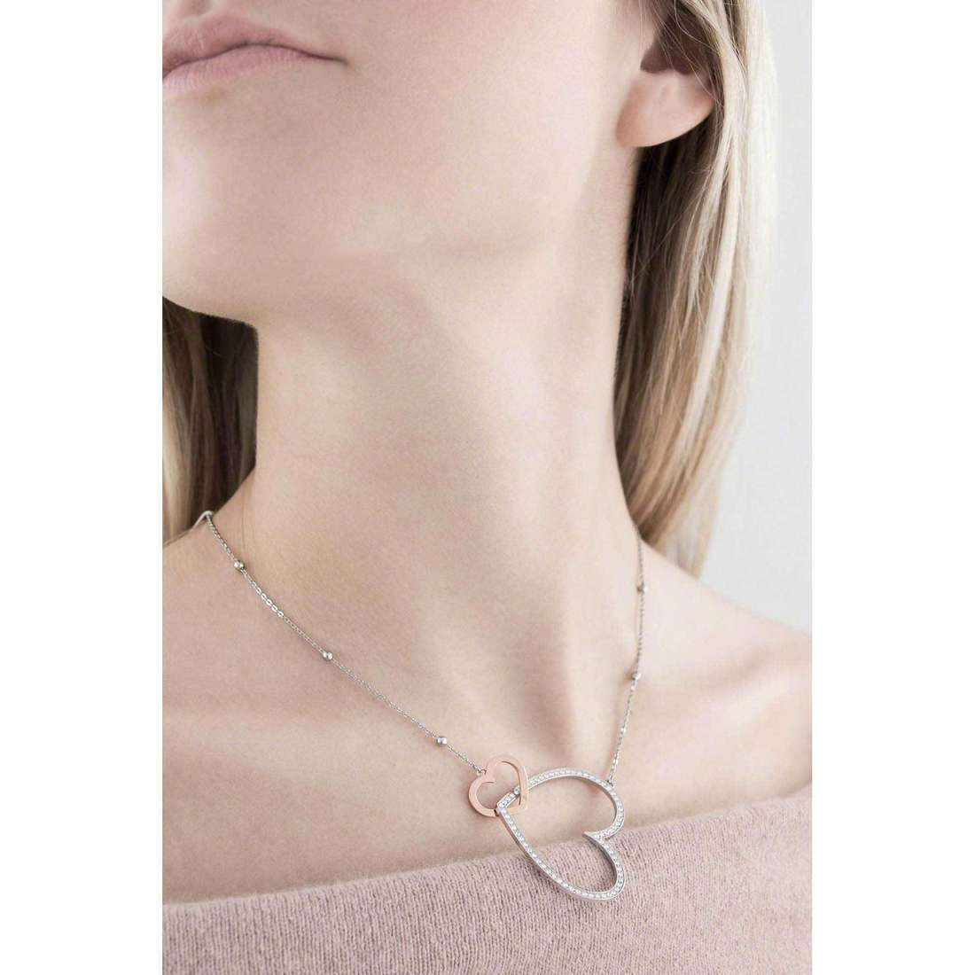 Brosway necklaces Minuetto woman BMU01 indosso