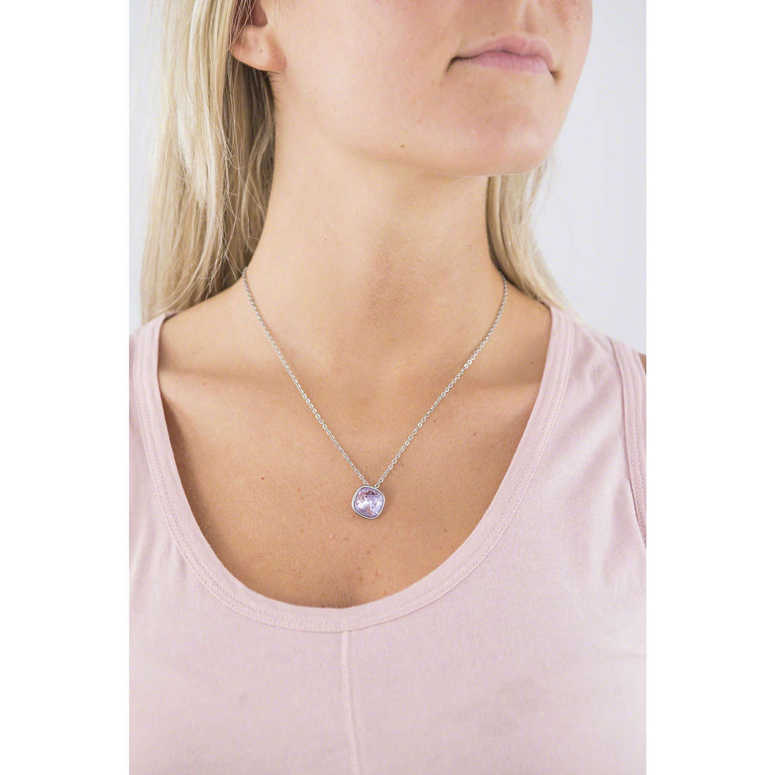 Brosway necklaces Ntring woman BTN38 indosso