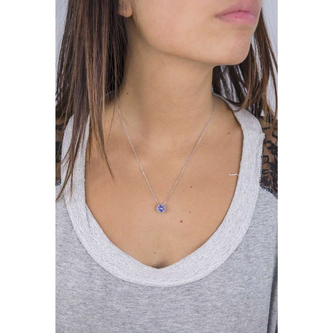 Brosway necklaces Princess woman G9PN05 indosso