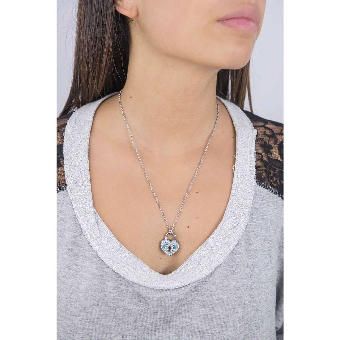 Brosway necklaces Private woman BPV05 photo wearing