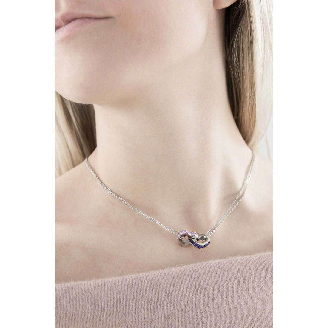 Brosway necklaces Romeo & Juliet woman BRJ08 indosso