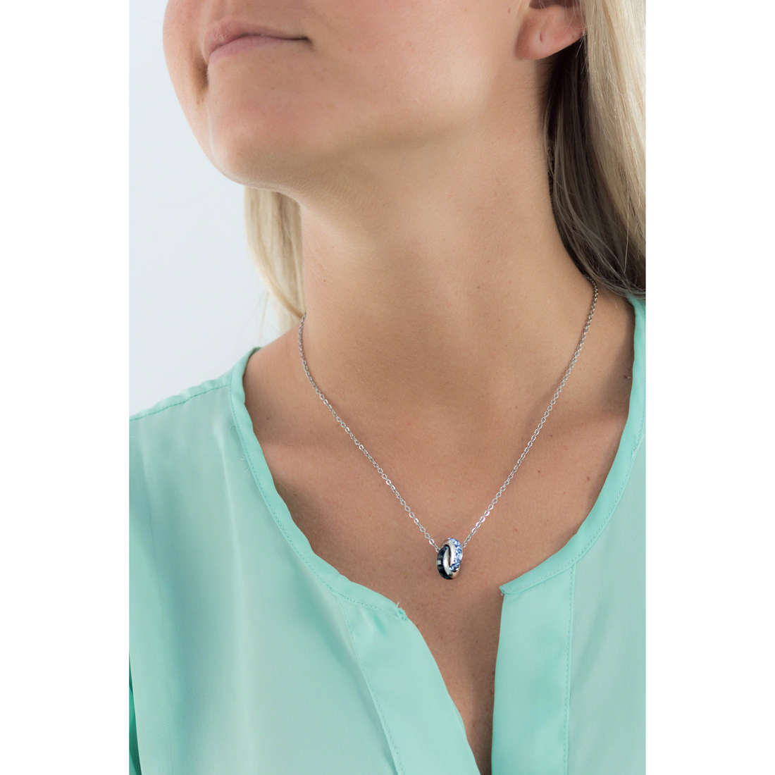 Brosway necklaces Romeo & Juliet woman BRJ41 indosso