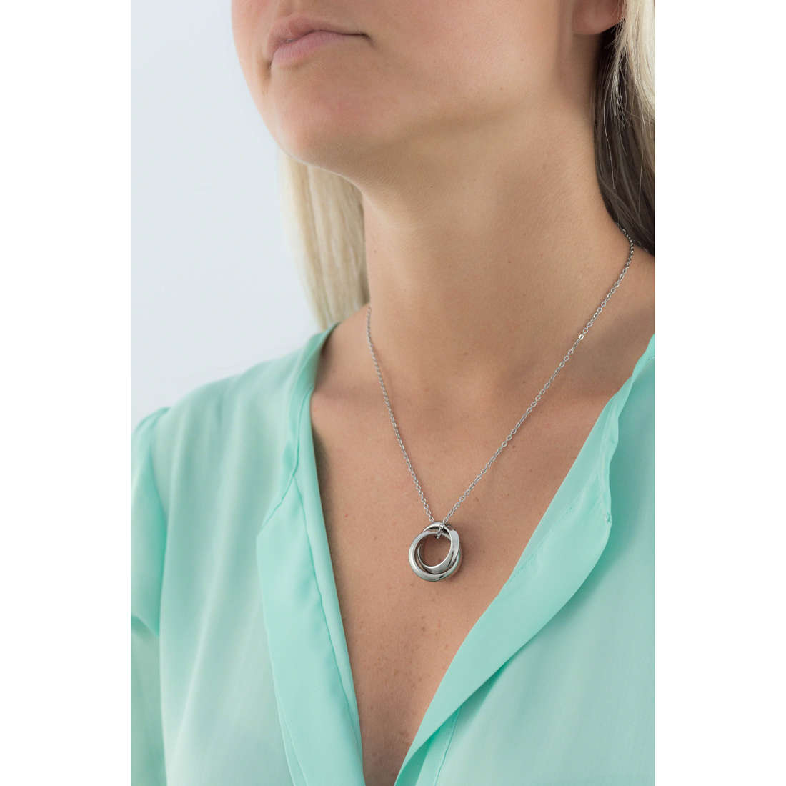 Brosway necklaces Romeo & Juliet woman BRJ45 indosso
