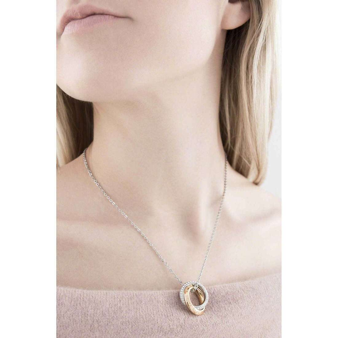 Brosway necklaces Romeo & Juliet woman BRJ46 indosso