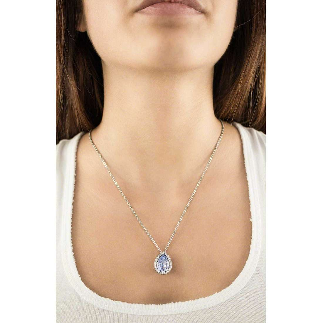 Brosway necklaces Tear woman BTX04 indosso