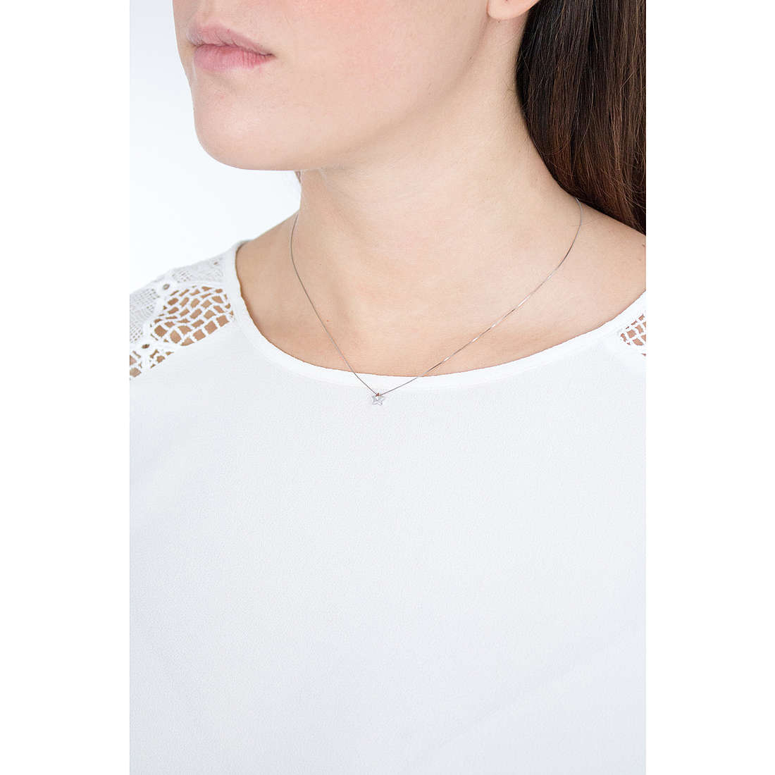 Comete necklaces Ceremony woman GLB 1264 photo wearing