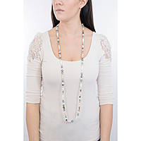 necklace woman jewellery Comete Fantasie di perle FBQ 118