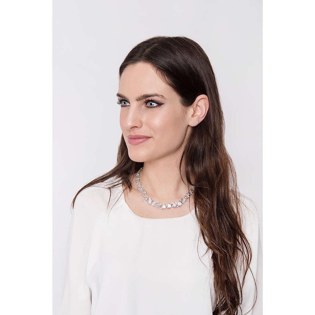 Comete necklaces Farfalle woman GLA 140 photo wearing