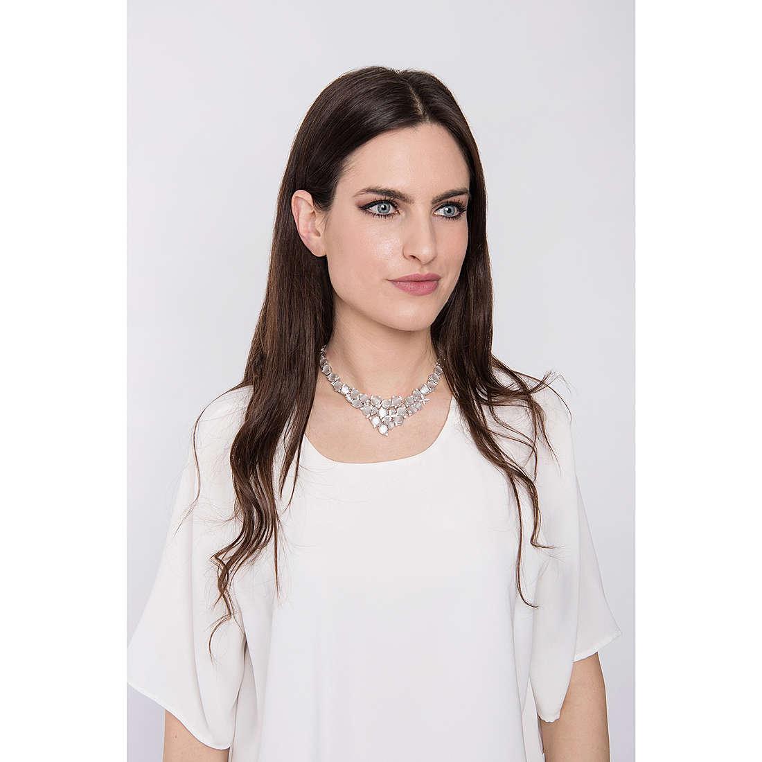 Comete necklaces Farfalle woman GLA 141 photo wearing