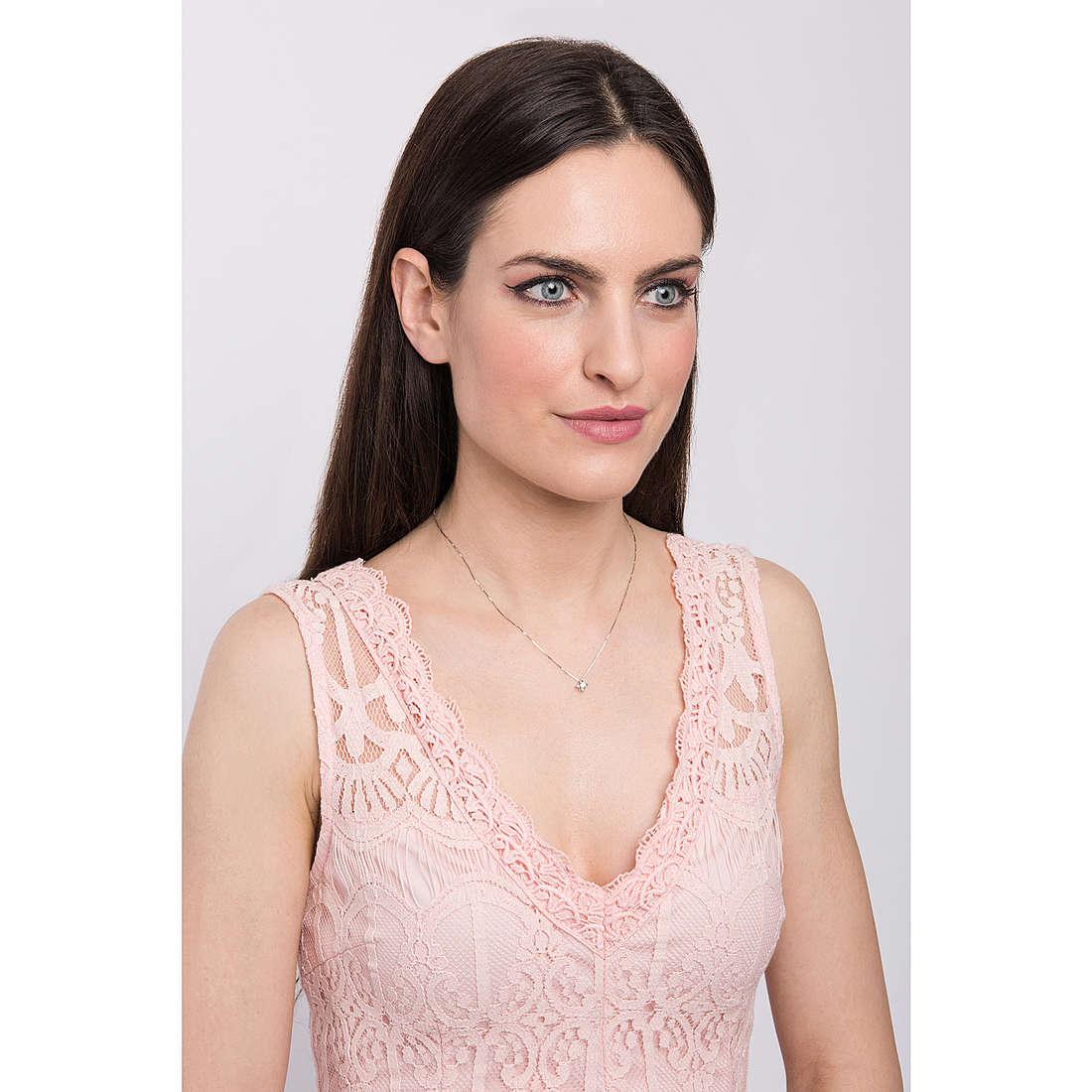 Comete necklaces woman GLB 1019 photo wearing