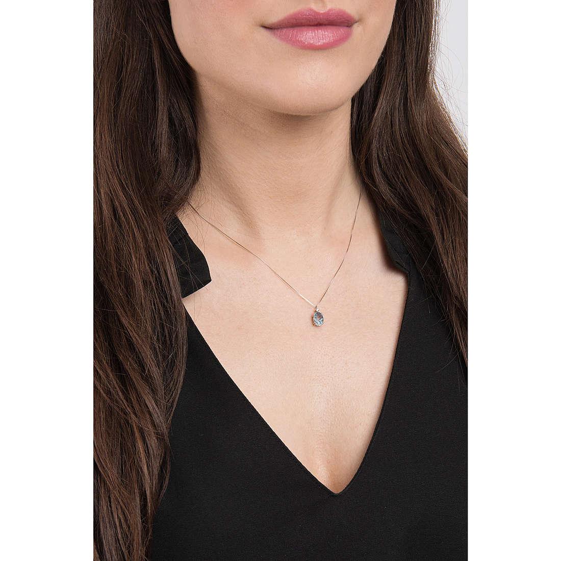 Comete necklaces woman GLB 1206 photo wearing