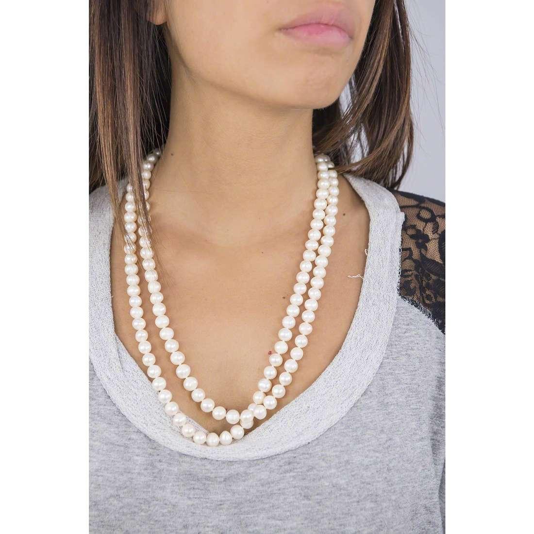 Comete necklaces Fili primavera woman FBQ 103 photo wearing