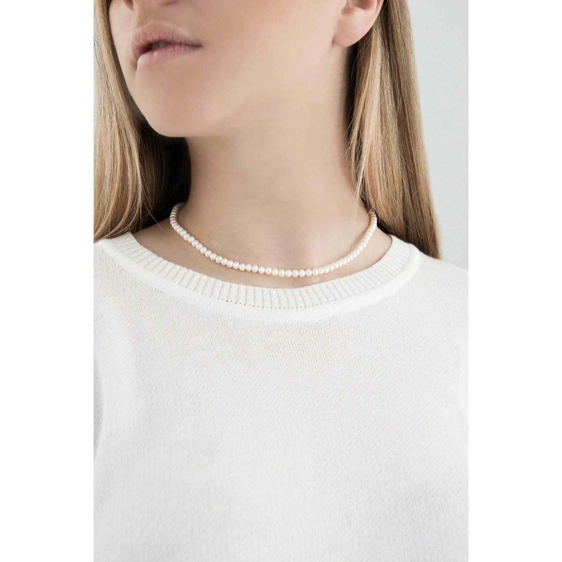 Comete necklaces Easy Basic woman FWQ 101 AM indosso