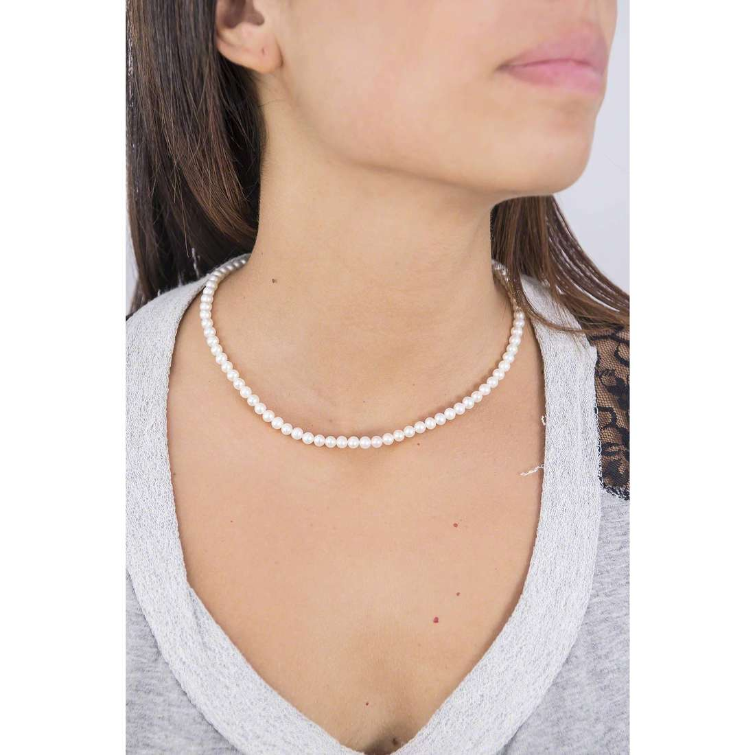 Comete necklaces Easy Basic woman FWQ 102 AM indosso