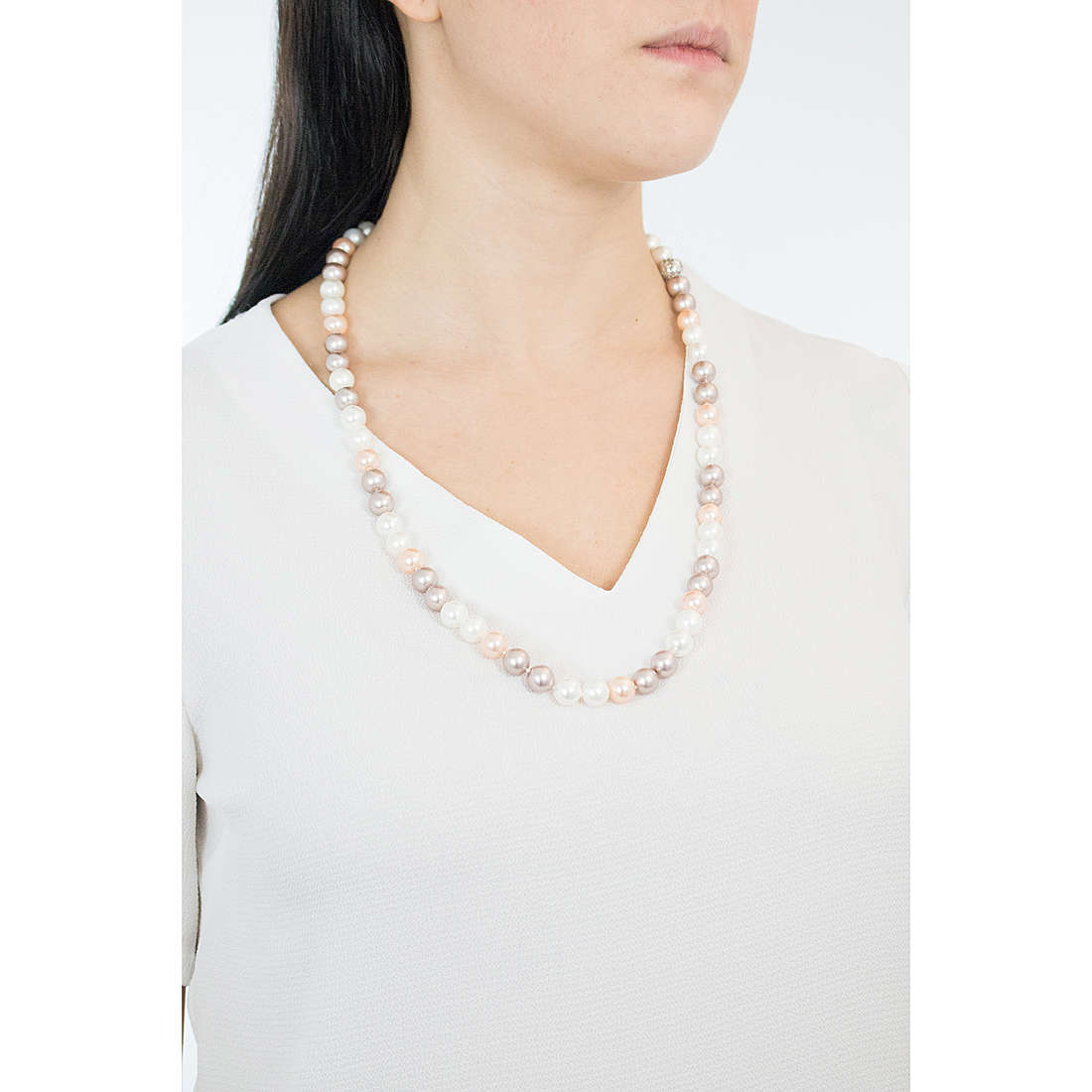 Comete necklaces Astri woman FWQ 174 photo wearing