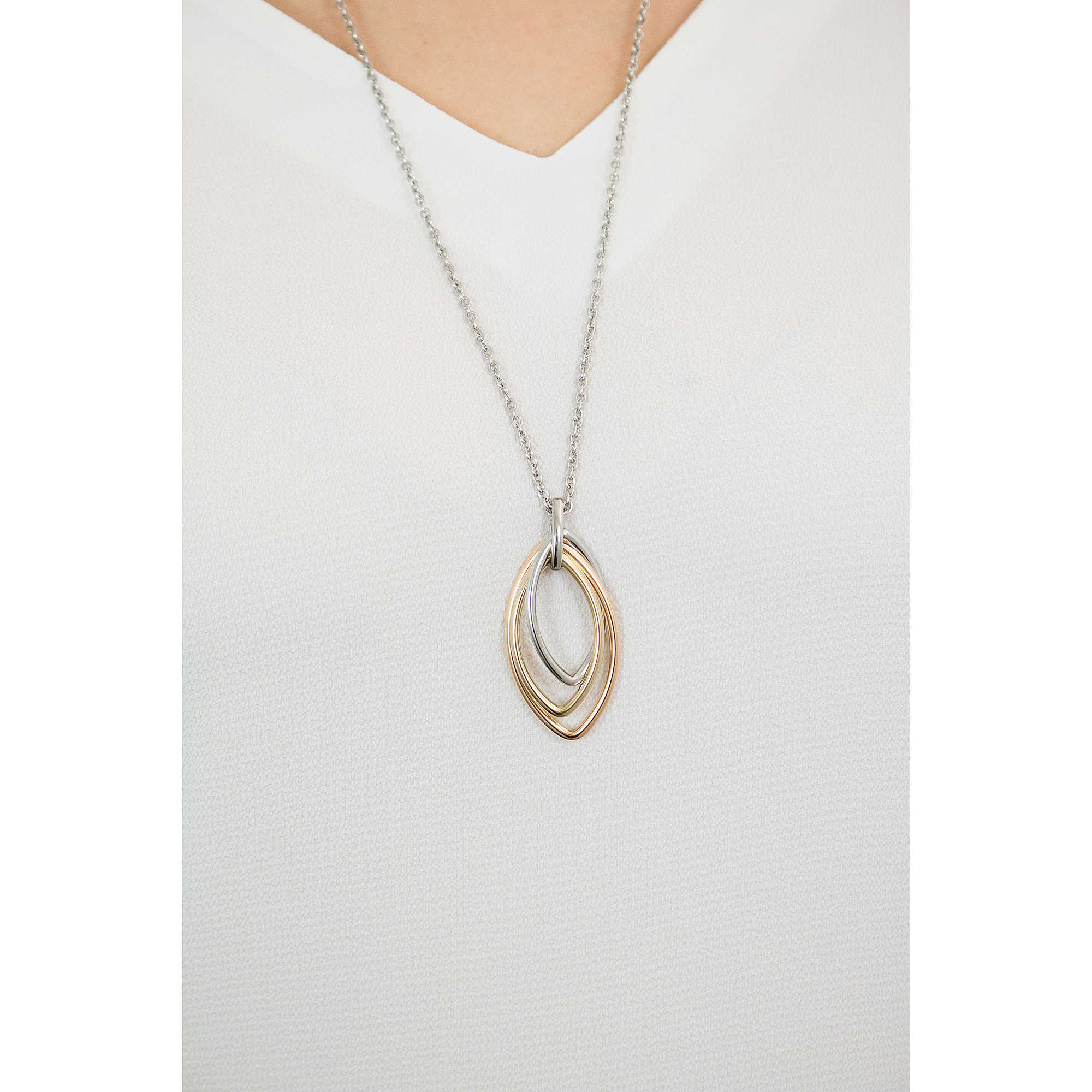 Fossil Women Stainless Steel Pendant Necklace - JF02779998 65oKomGiL
