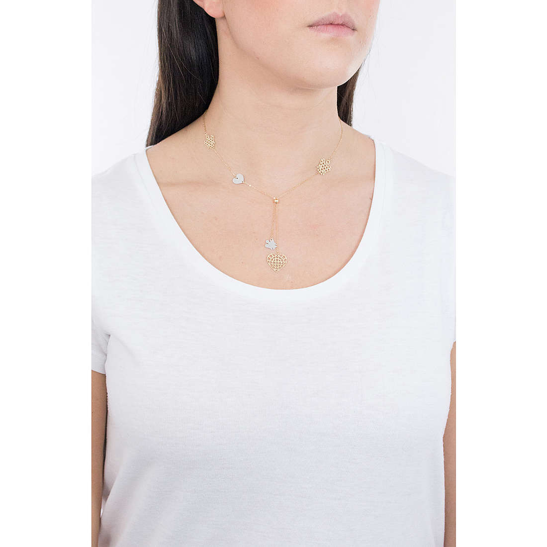 Giannotti necklaces Angeli woman GIANNOTTINKT225 photo wearing