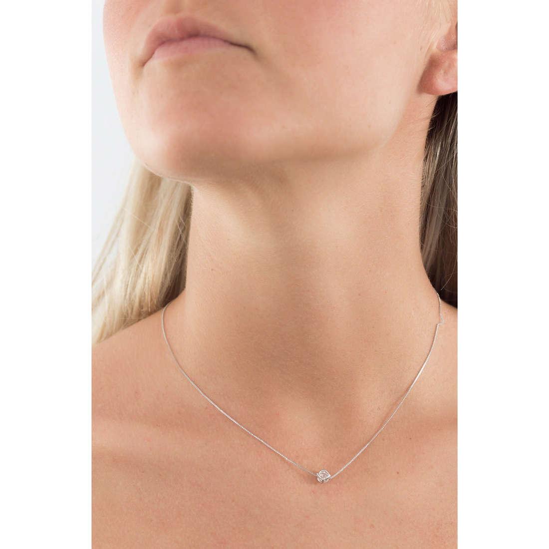 GioiaPura necklaces woman 27621-01-00 indosso