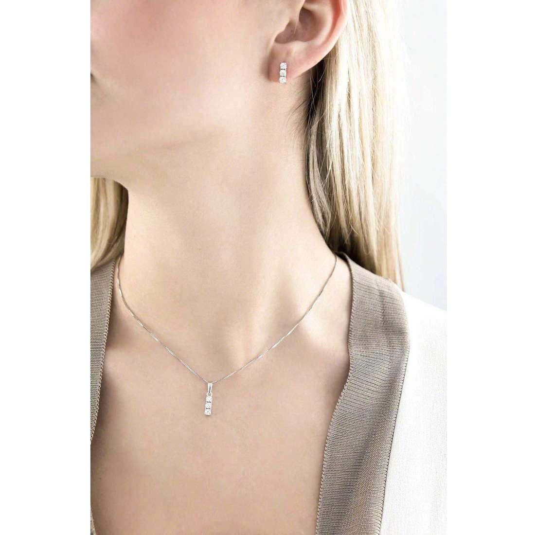 GioiaPura necklaces woman 32349-01-00 indosso
