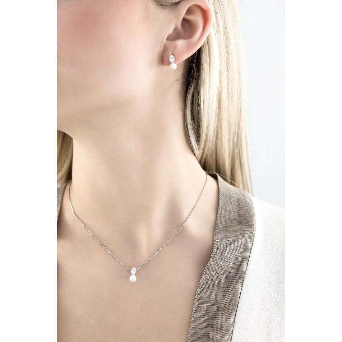 GioiaPura necklaces woman 33856-01-00 indosso