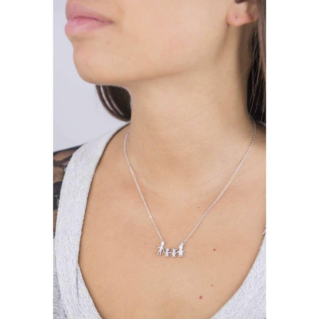 GioiaPura necklaces woman 38091-01-99 indosso