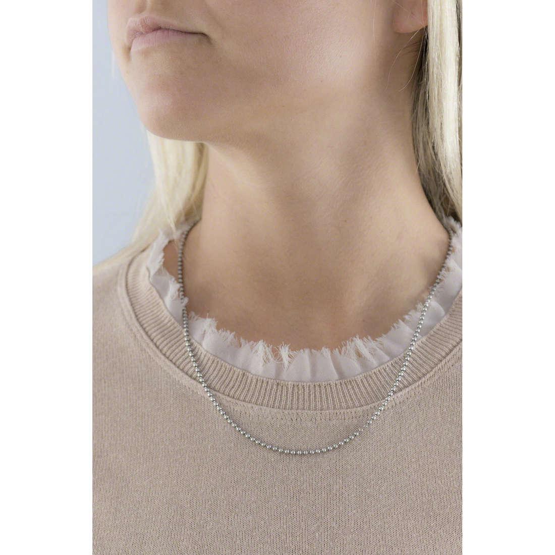 GioiaPura necklaces woman GPSRSCL0021-50-CF indosso