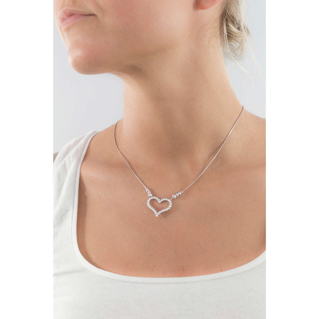 GioiaPura necklaces woman GPSRSCL1210 indosso