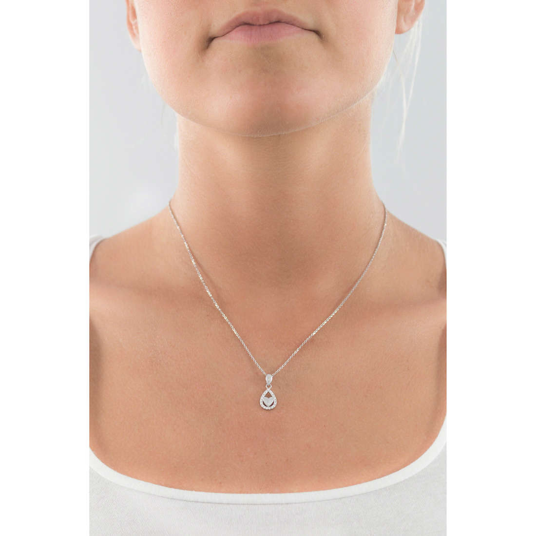 GioiaPura necklaces woman GPSRSCL1561 indosso