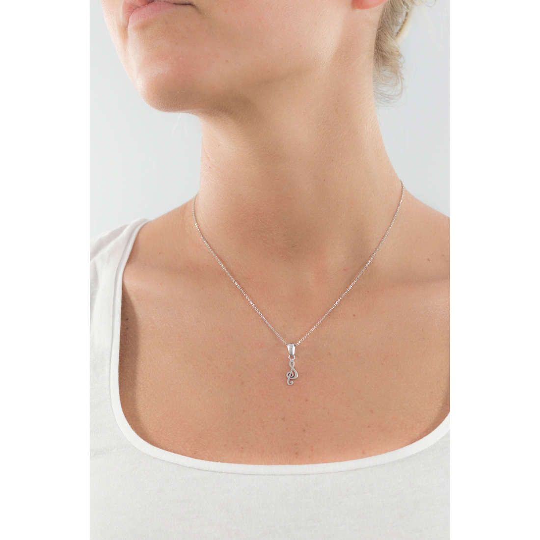 GioiaPura necklaces woman GPSRSCL1853 indosso