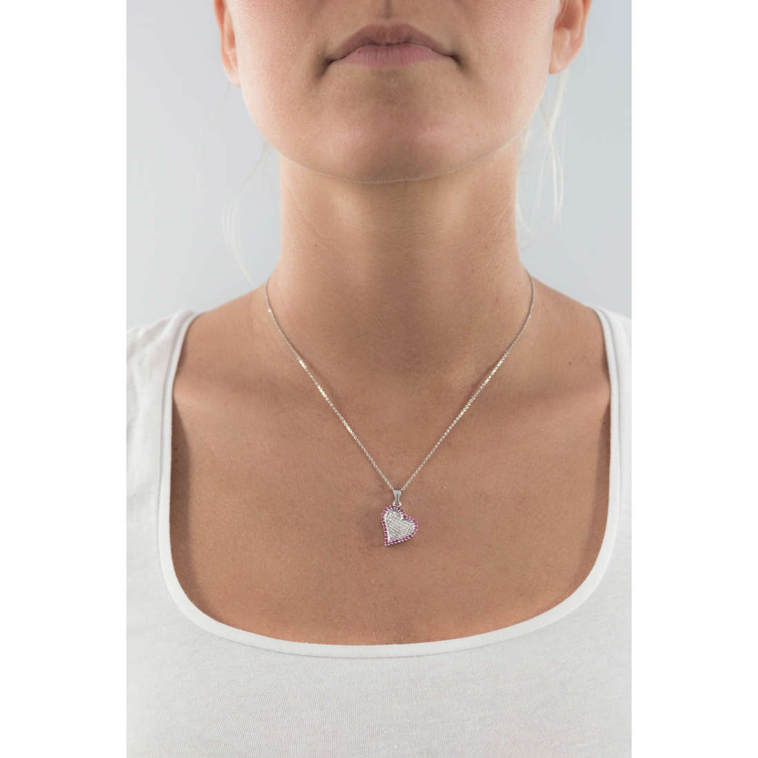 GioiaPura necklaces woman GPSRSCL2394 indosso