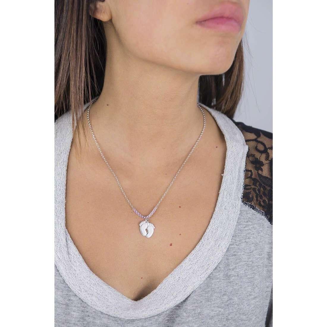 GioiaPura necklaces woman GPSRSCL2437 indosso