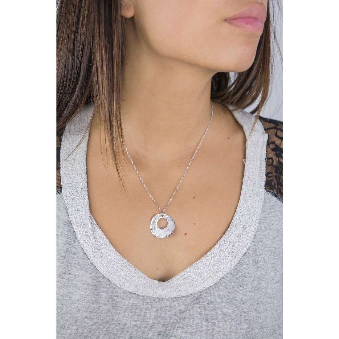 GioiaPura necklaces woman WCF01337TA indosso