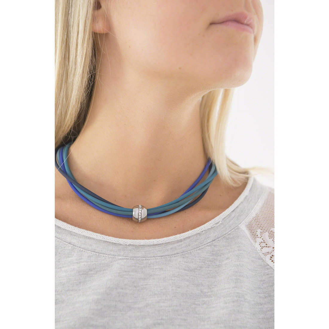Hip Hop necklaces Cheer woman HJ0228 indosso