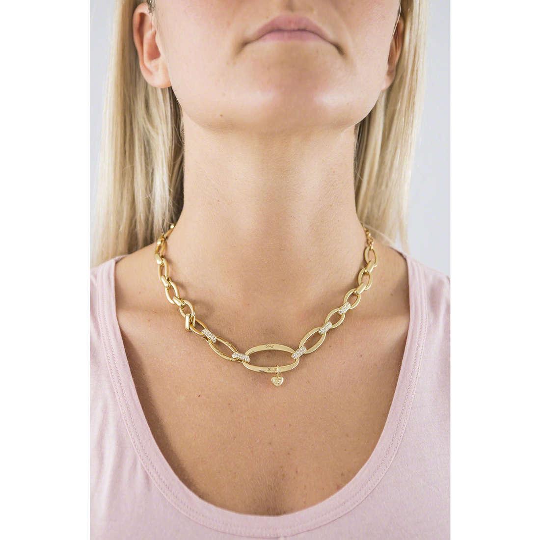 Liujo necklaces Dolceamara woman LJ832 indosso