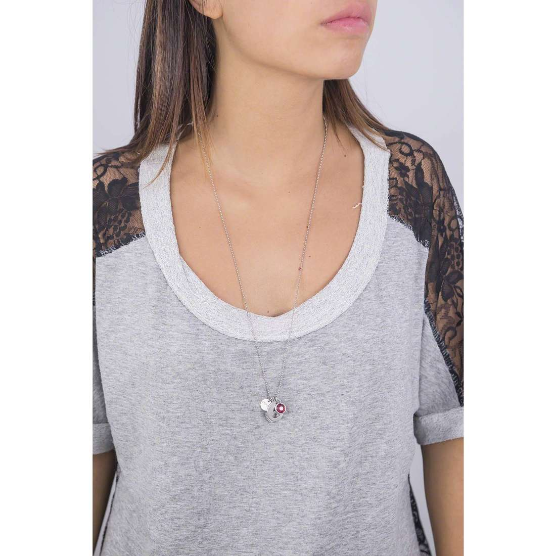 Liujo necklaces Destini woman LJ970 indosso