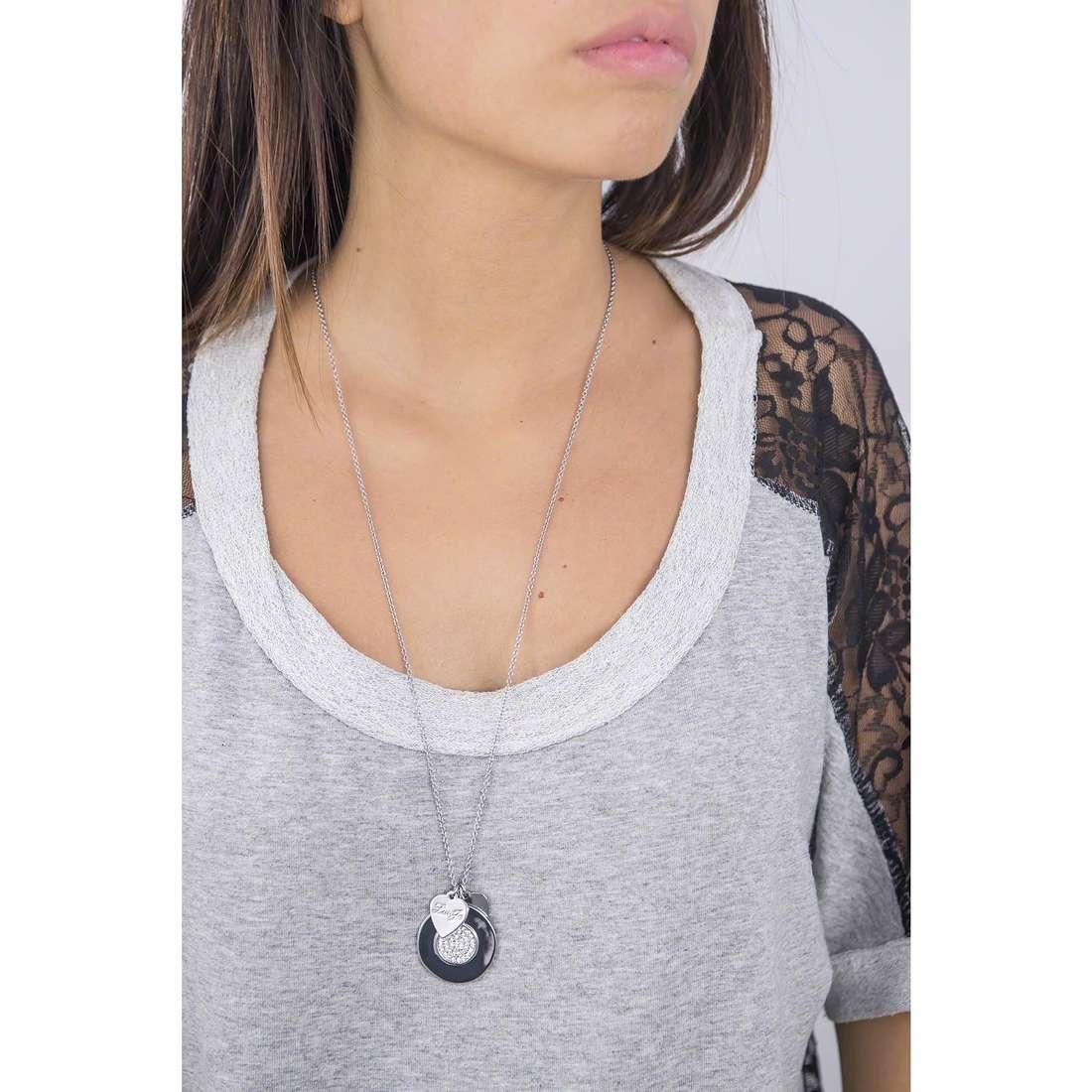 Liujo necklaces Destini woman LJ976 indosso