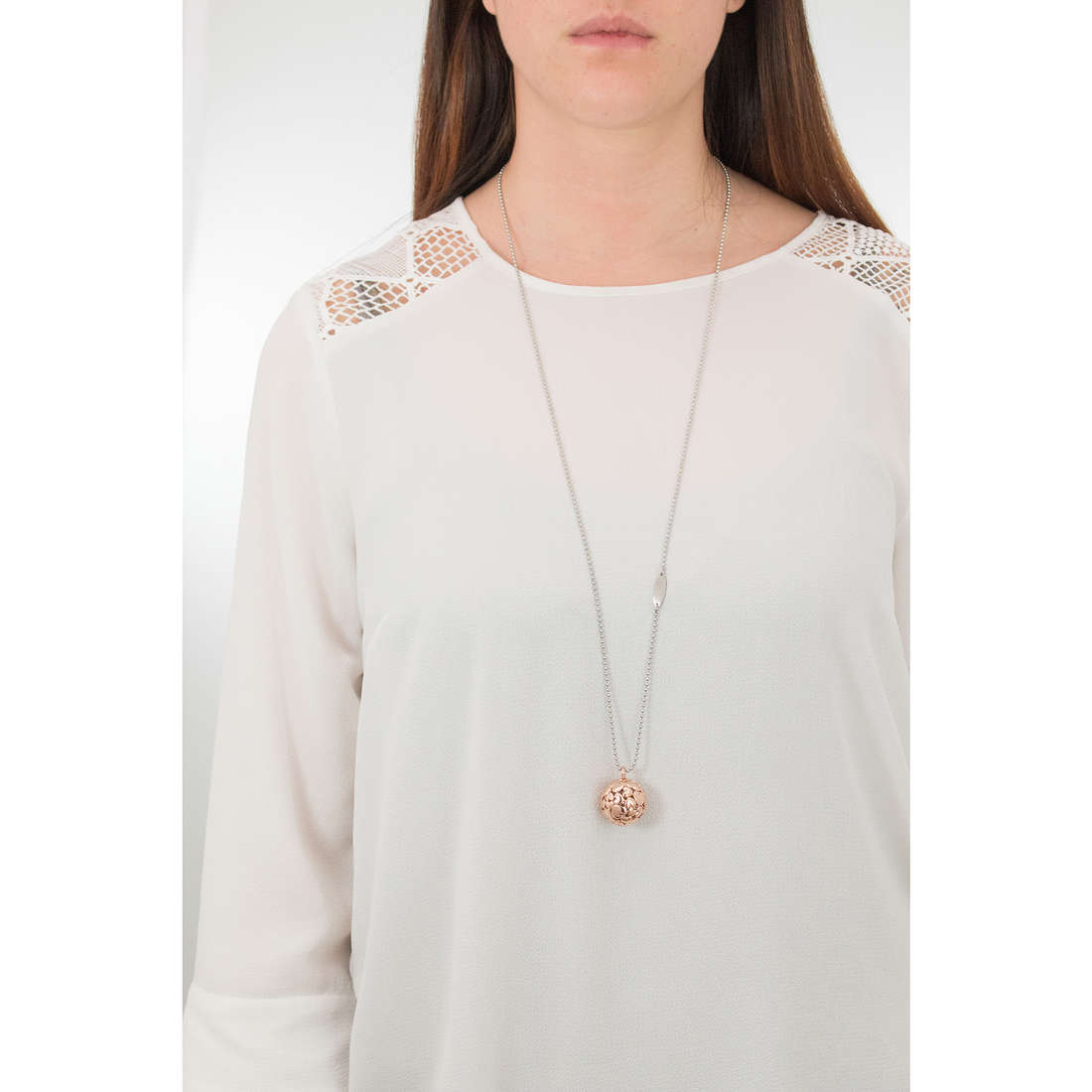 Luca Barra necklaces Babe woman LBCK1059 indosso