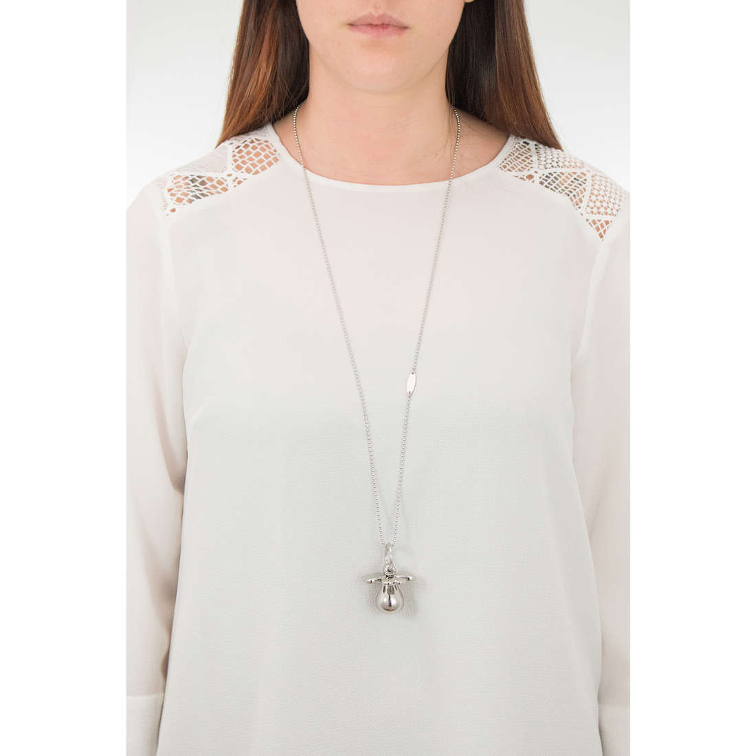 Luca Barra necklaces woman LBCK1050 photo wearing