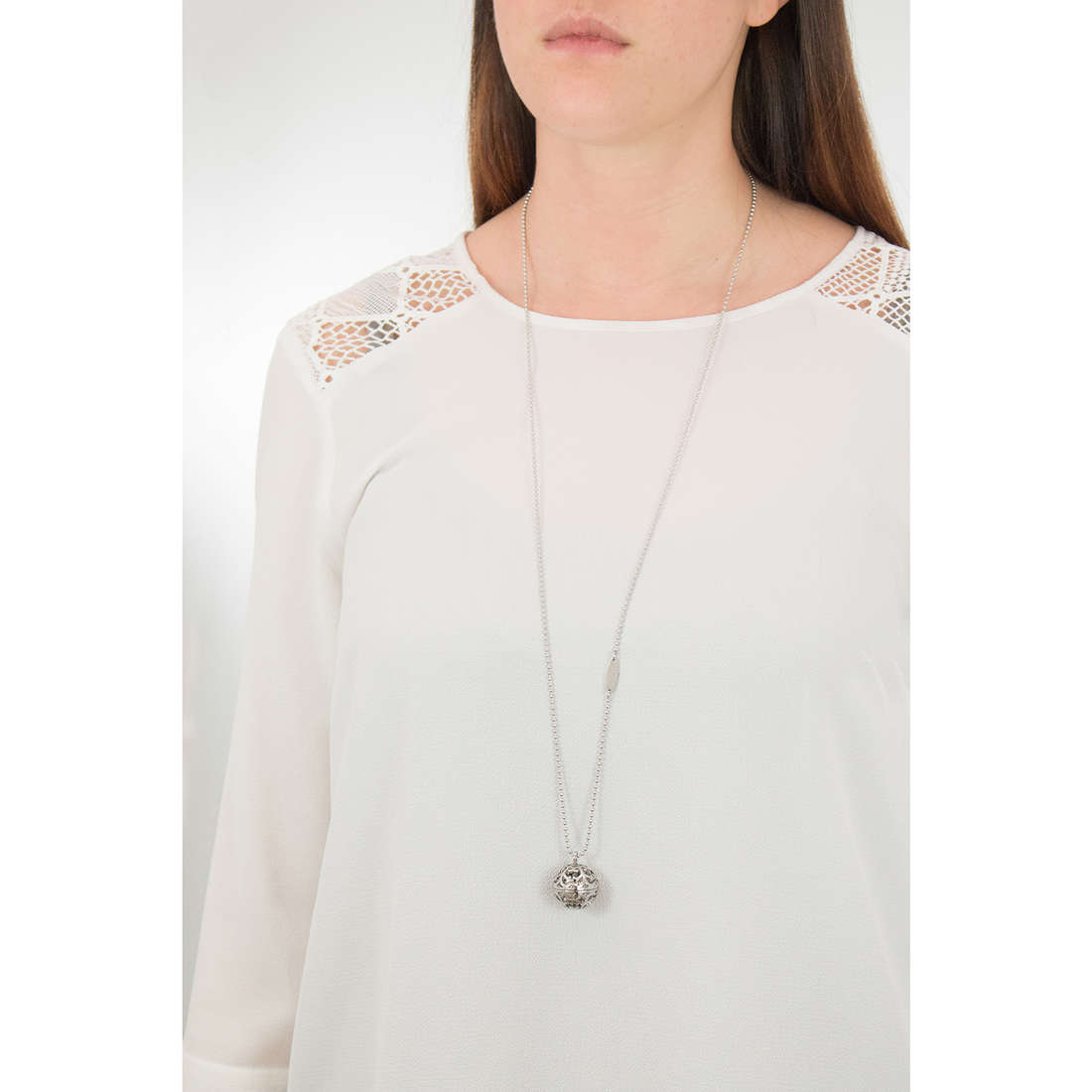 Luca Barra necklaces woman LBCK1053 photo wearing