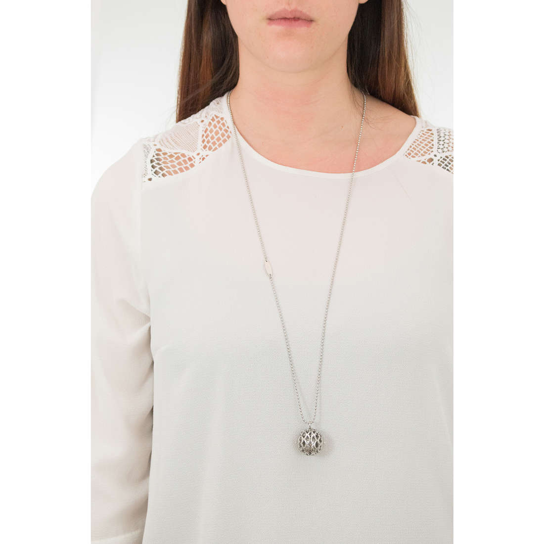 Luca Barra necklaces woman LBCK1061 indosso