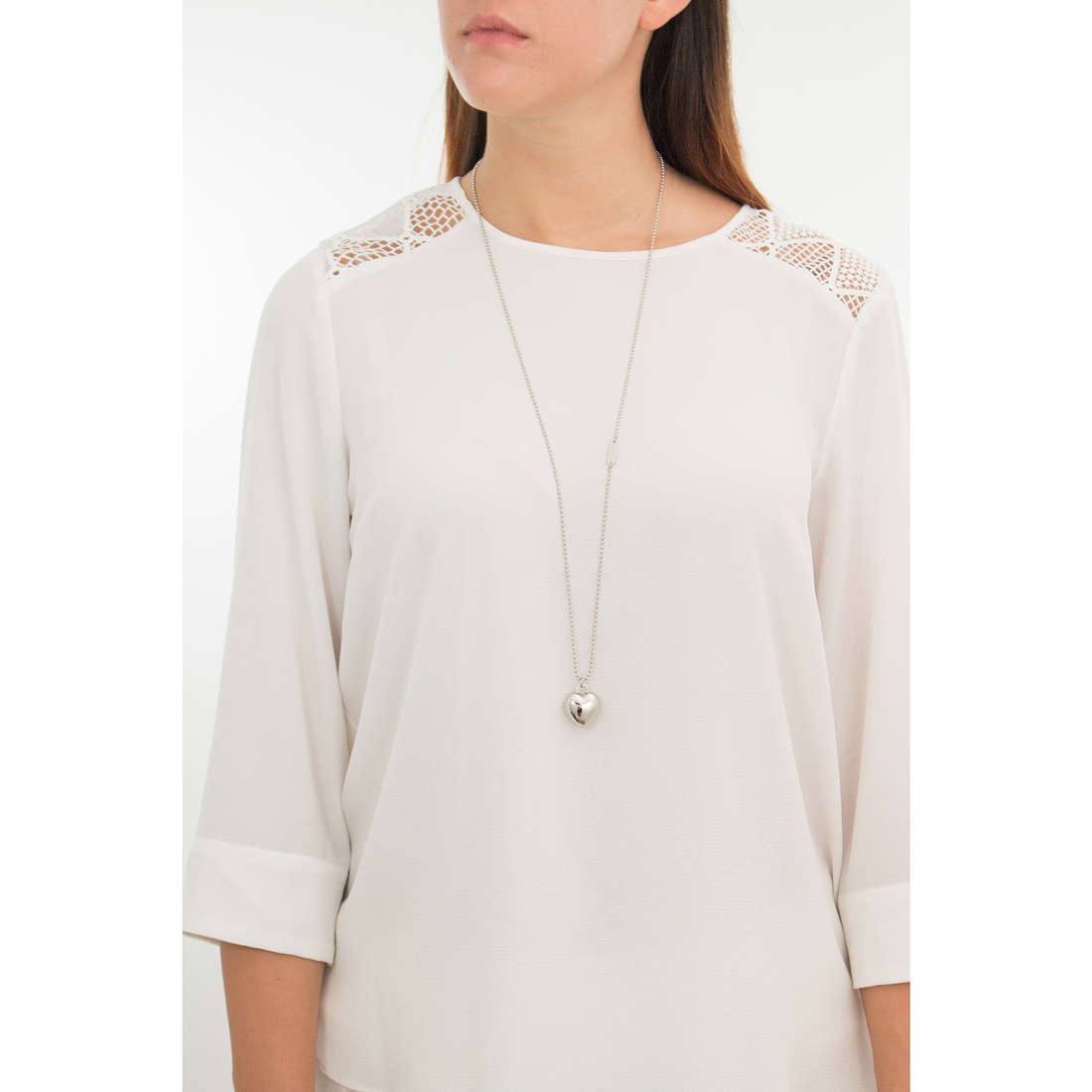 Luca Barra necklaces woman LBCK1063 indosso
