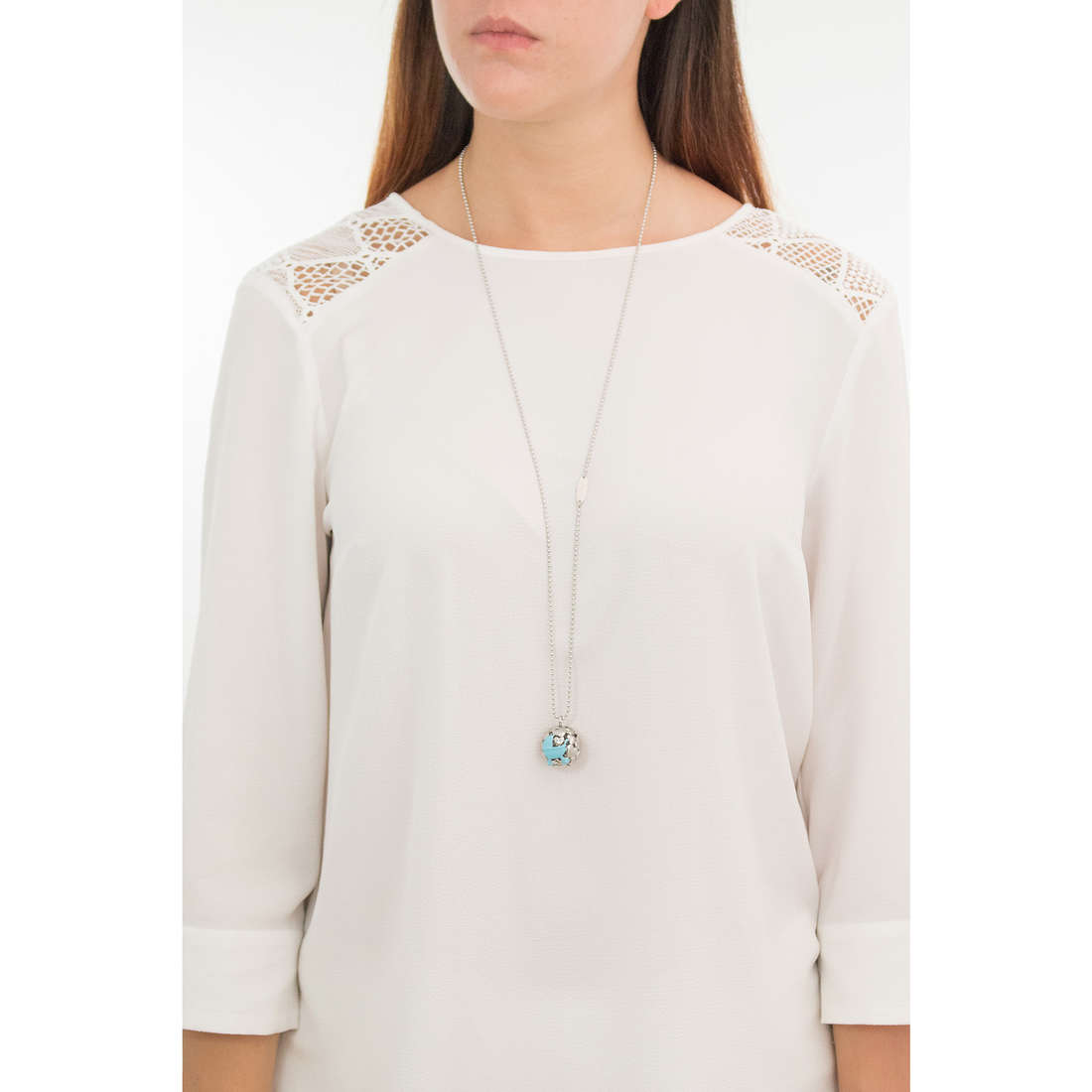 Luca Barra necklaces woman LBCK1066 indosso