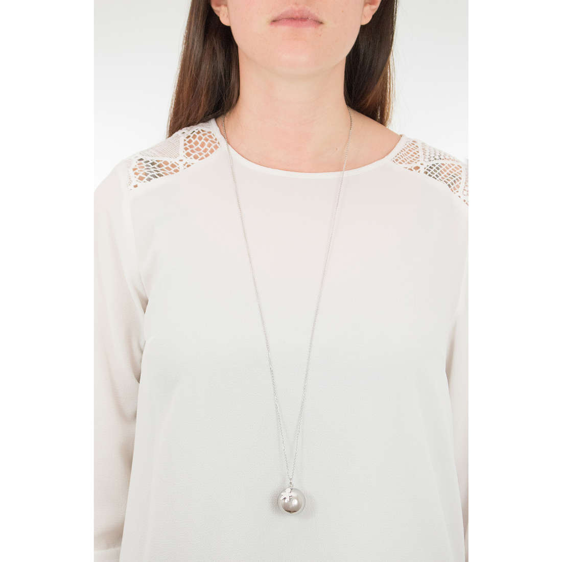 Luca Barra necklaces woman LBCK770 indosso